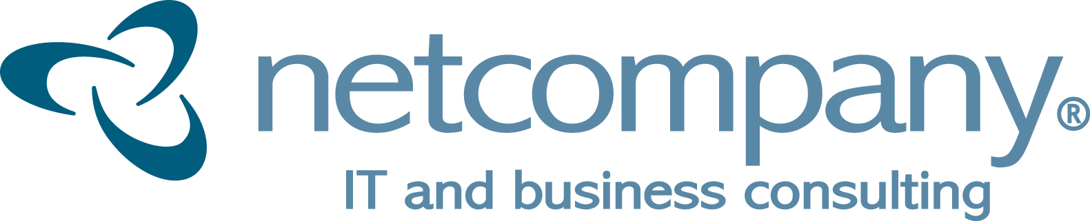 Netcompany logo, IT and business consulting